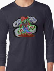 16-Bit Nightmare Long Sleeve T-Shirt
