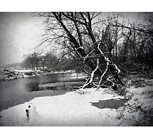 Snowy Stouts Creek Photographic Print
