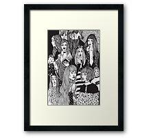 Girls Girls Girls Framed Print