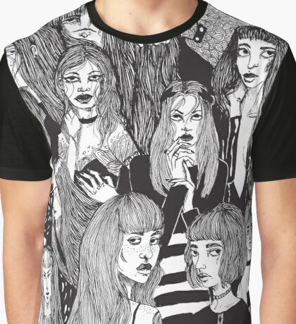 Girls Girls Girls Graphic T-Shirt