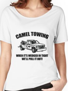 Camel Towing Wrecking Service Women's Relaxed Fit T-Shirt