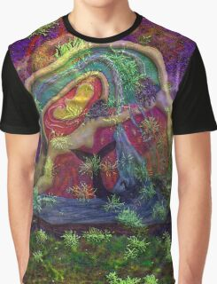 Wrapped in natures warm embrace the heart can seek a higher place Graphic T-Shirt