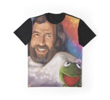 Pure Joy Avec Frog Graphic T-Shirt