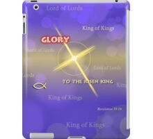King of Kings iPad Case/Skin