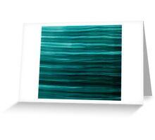 Aqua Waves Greeting Card