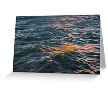 Mountains of Water Greeting Card