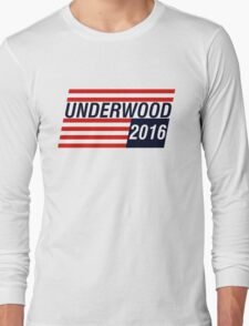 UNDERWOOD 2016 Long Sleeve T-Shirt