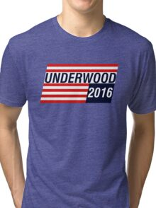 UNDERWOOD 2016 Tri-blend T-Shirt
