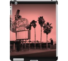 Sky Ranch Motel - Old Vegas  iPad Case/Skin
