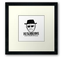 Heisenbernie Framed Print
