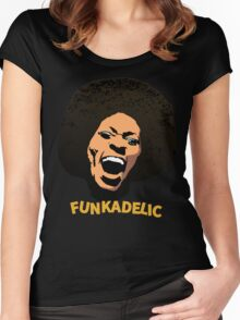 Funkadelic - Maggot Brain Women's Fitted Scoop T-Shirt