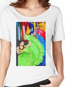 Sensual Latin American Dancers - no.17 Women's Relaxed Fit T-Shirt