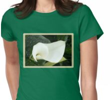 Creamy Soft and Gracefully Curved Womens Fitted T-Shirt