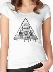 Borgore Design Women's Fitted Scoop T-Shirt