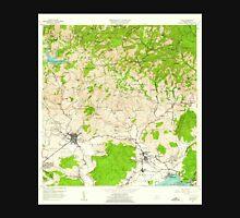 USGS TOPO Map Puerto Rico PR Yauco 362294 1958 20000 Unisex T-Shirt