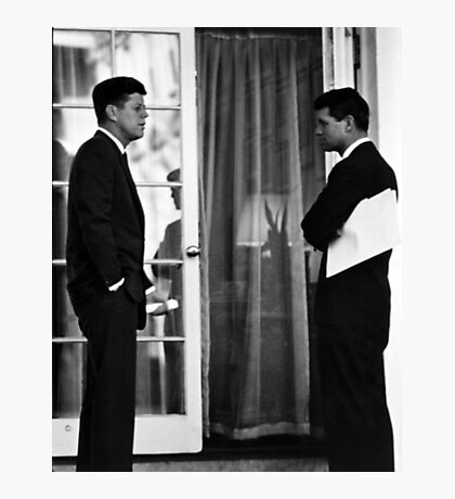 President John Kennedy And Robert Kennedy Photographic Print