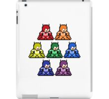 8-Bit Rainbow Colorways Batman iPad Case/Skin