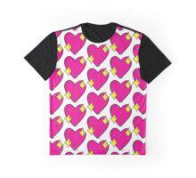 Emoji Heart Graphic T-Shirt