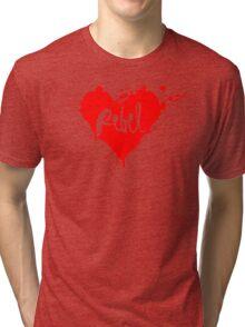 Rebel HEART Tri-blend T-Shirt