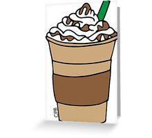 Frappuccino Greeting Card