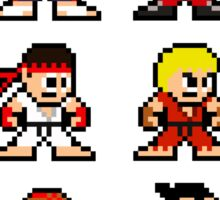 8-Bit Street Fighter 2 Sticker