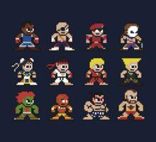 8-Bit Street Fighter 2 Kids Tee