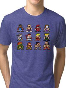 8-Bit Street Fighter 2 Tri-blend T-Shirt