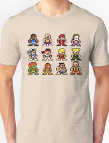 8-Bit Street Fighter 2 Unisex T-Shirt
