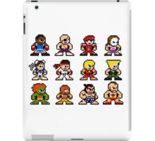 8-Bit Street Fighter 2 iPad Case/Skin