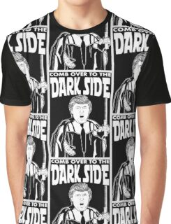 Trump Comb Over Dark Side Graphic T-Shirt