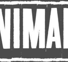 EATING ANIMALS IS WEIRD Sticker