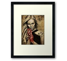 Wolf Blood Framed Print