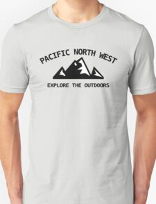 Pacific North West - Explore the Outdoors T-Shirt