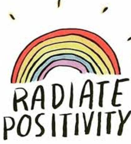 Radiate Positivity Sticker Sticker
