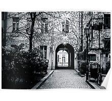 Berlin Courtyard Poster