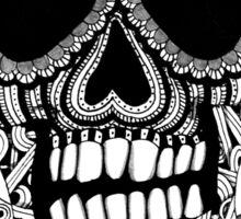 Tangled Skull and Crossbones Sticker