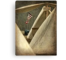 Army Chaplain Canvas Print