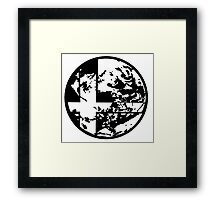 Earthbound Smash Ball Framed Print