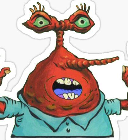 MOAR! - Spongebob Sticker