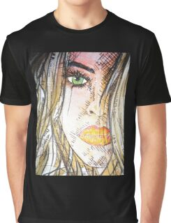 Closeup.. 'Spaced' by Christian Asare Graphic T-Shirt