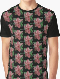 Paradise (Original Flower Oil Painting Background Removed) Graphic T-Shirt