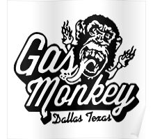 Monkey Garage Dallas Poster