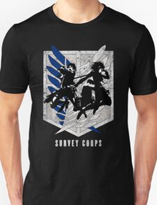 Attack on titan - Eren - Mikasa Unisex T-Shirt