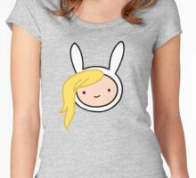 Adventure Time Fionna Women's Fitted Scoop T-Shirt