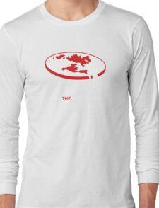 Flat Earth (Teach the Controversy) Long Sleeve T-Shirt