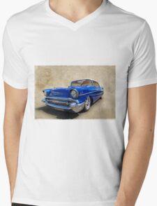 1957 Mens V-Neck T-Shirt