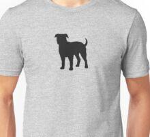 American Bulldog Silhouette(s) Unisex T-Shirt