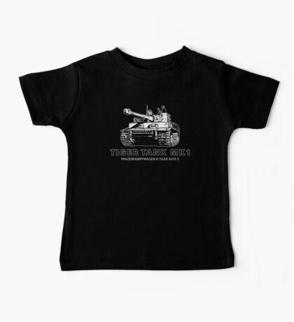 Tiger Tank Mark 1 Baby Tee