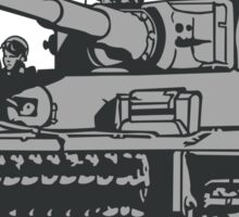 Tiger Tank Mark 1 Sticker
