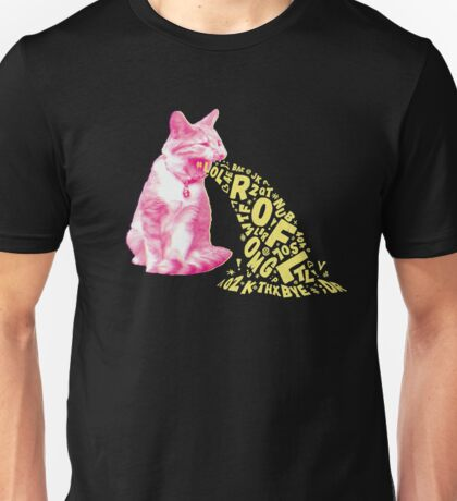 Word Vomit Unisex T-Shirt